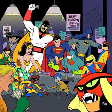 Comic Fight Club